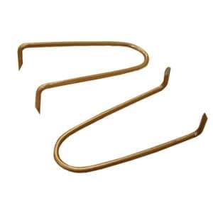 """1/2"""" x 2-1/2"""" """"Copper Boy"""" Copper Clad Pipe Hook, Carton of 50"""