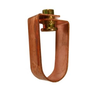"""1/2"""" Copper Plated Swivel Ring for 3/8"""" Rod"""
