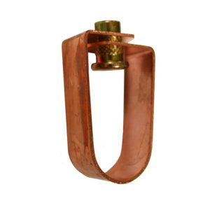 """1-1/4"""" Copper Plated Swivel Ring for 3/8"""" Rod"""