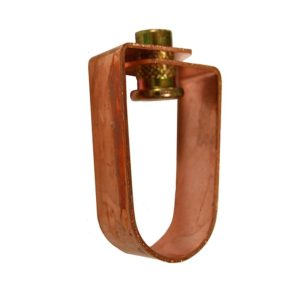 """1-1/2"""" Copper Plated Swivel Ring for 3/8"""" Rod"""