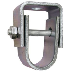 "1-1/2"" Zinc Plated Clevis Hanger for 3/8"" Rod, Standard - 401# Steel"