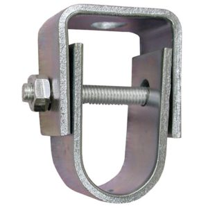 "2-1/2"" Zinc Plated Clevis Hanger for 1/2"" Rod, Standard - 401# Steel"