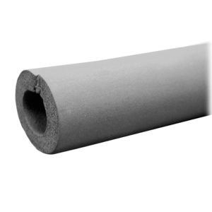 "3/8"" OD Seamless Rubber Pipe Insulation, 3/8"" Wall Thickness, 612 ft. per Carton"