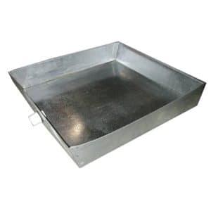 """30"""" x 30"""" x 4"""" Galvanized Hot Water Heater Pan"""
