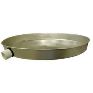 """26"""" Round Aluminum Water Heater Pan"""