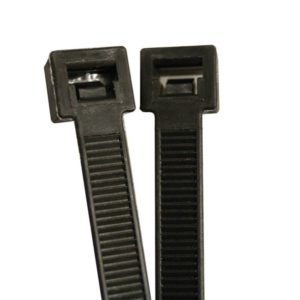 "15"" Cable Ties, Black, Bag of 100"