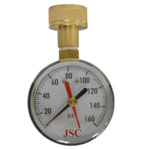 160 PSI Water Test Gauge with Indicator