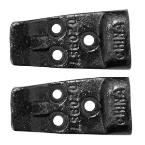 Pair of Cast Iron Lavatory Hangers for Cast Iron or Citreous China