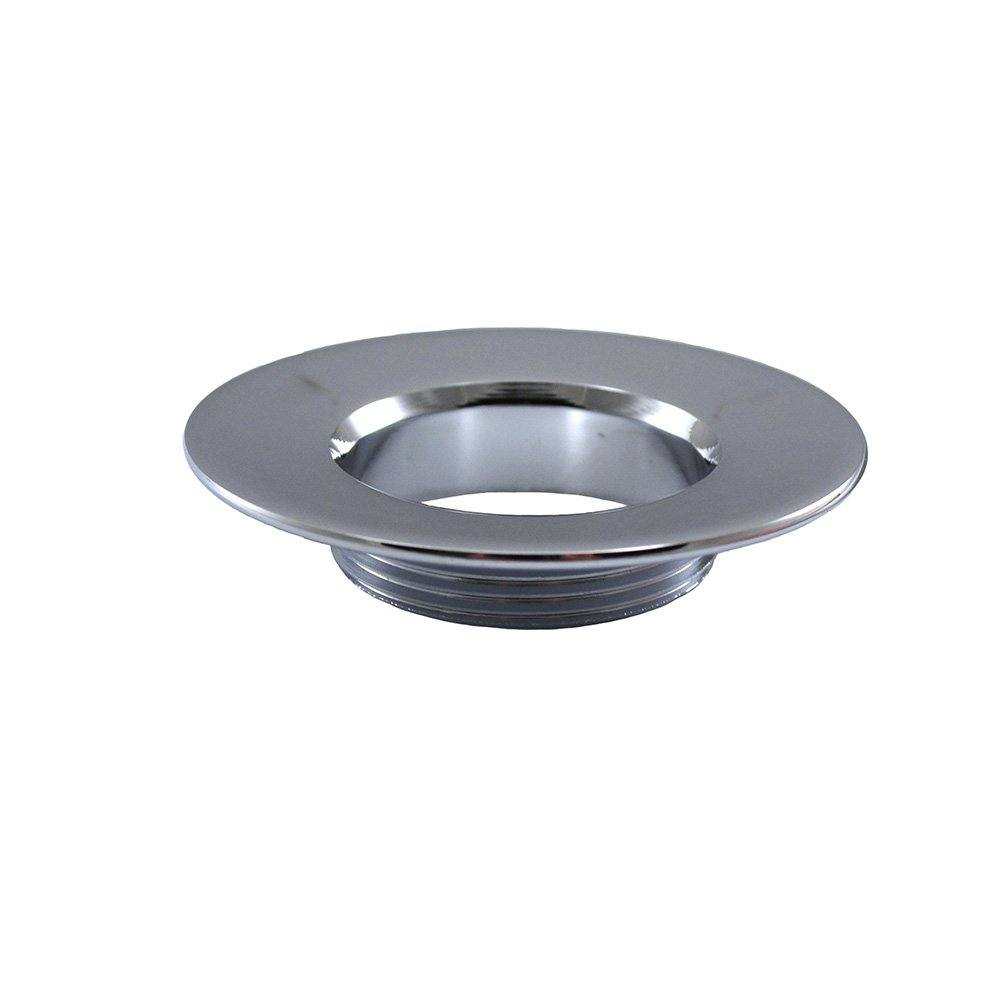 Chrome Plated Stainless Steel Flange for Brass Pop-Up Assembly