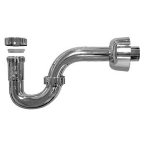 """1-1/2"""" Chrome Plated ABS P-Trap"""