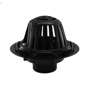 """3"""" ABS Roof Drain with Cast Iron Dome"""
