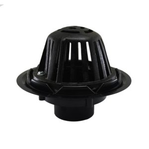 """4"""" ABS Roof Drain with Cast Iron Dome"""