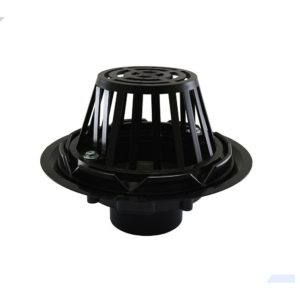 """3"""" ABS Roof Drain with Plastic Dome"""