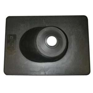 "4"" All Neoprene Roof Flashing with 12"" x 14-3/4"" Flange"