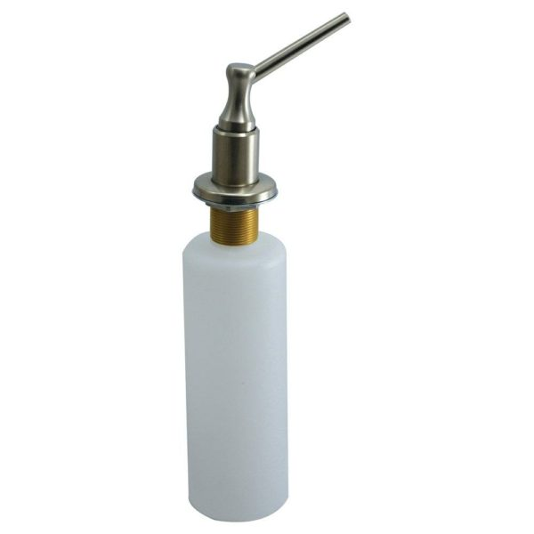 Brushed Nickel PVD Lotion and Soap Dispenser with Brass Pump