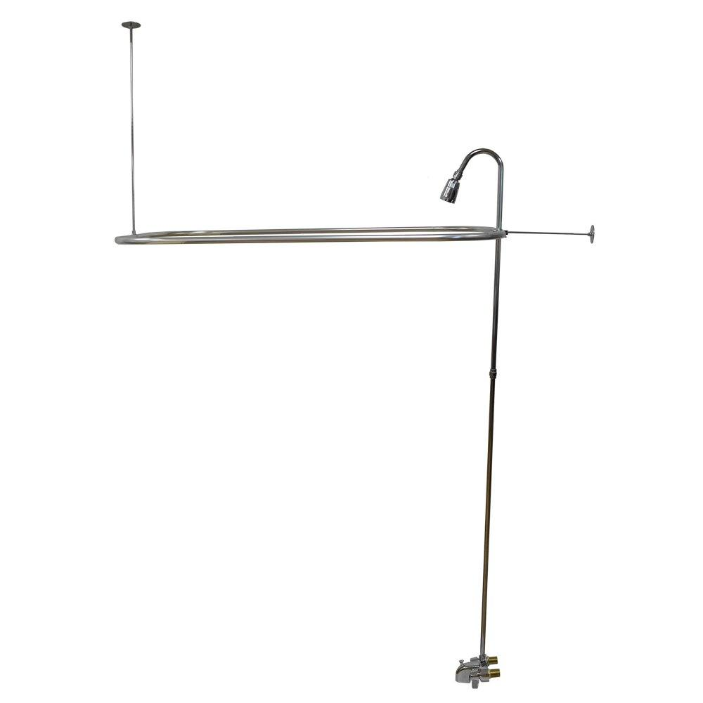 """54"""" x 27"""" D-Style Add-A-Shower"""