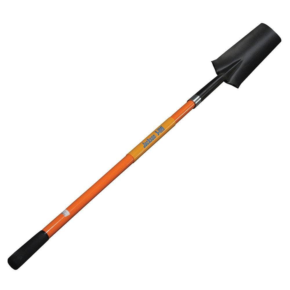 """Fiberglass Handle Shovel, Long Handle, 16"""" Drain Spade, AMES #SFGDSL"""