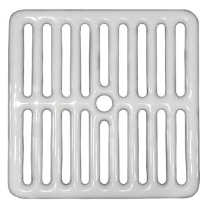 Full Top Grate for Porcelain Coated Floor Sinks
