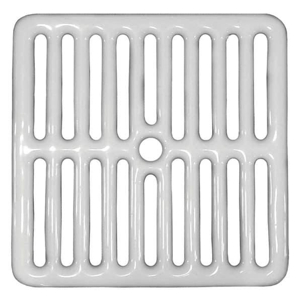 Full Top Grate for Porcelain Coated Floor Sinks