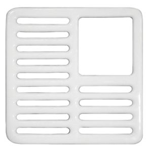 Three Quarter Top Grate for Porcelain Coated Floor Sinks