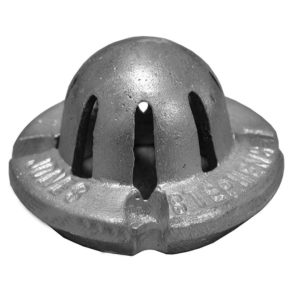 "2"" Aluminum Bottom Dome For Cast Iron Sinks"