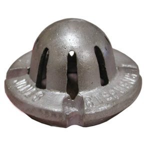 "3"" Aluminum Bottom Dome For Cast Iron Sinks"