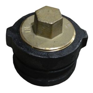 """1-1/2"""" N.O. Plug with Gasket for Trap Standards"""