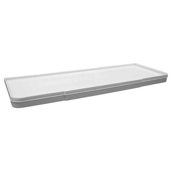 White Fit-All Toilet Tank Cover