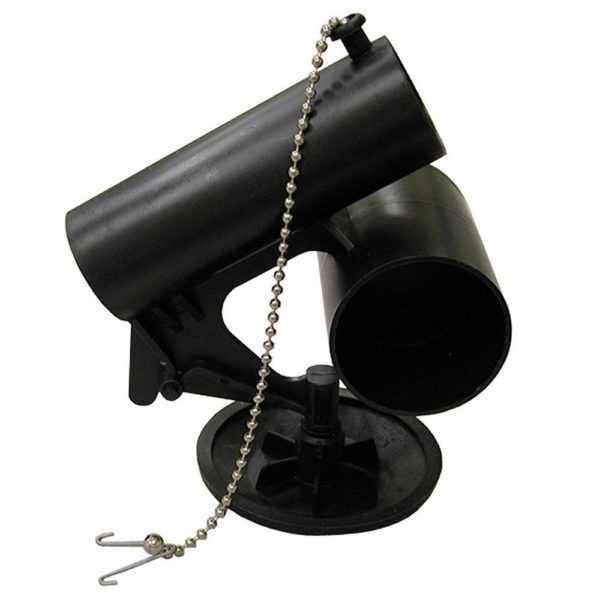 High Profile Actuator Unit Complete for American Standard #6 Old Style Black with Disc, Chain, Clip and Grommet