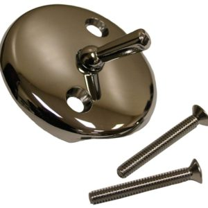 "Chrome Plated Tub Trip Lever with 2"" Screws"