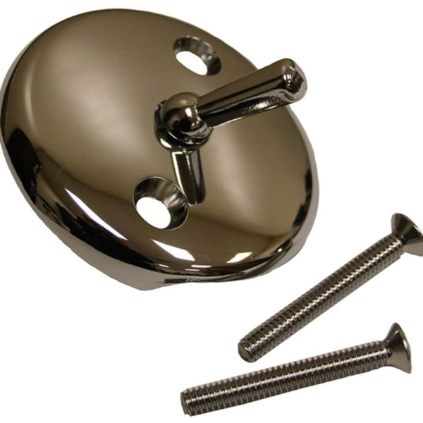 """Chrome Plated Tub Trip Lever with 2"""" Screws"""