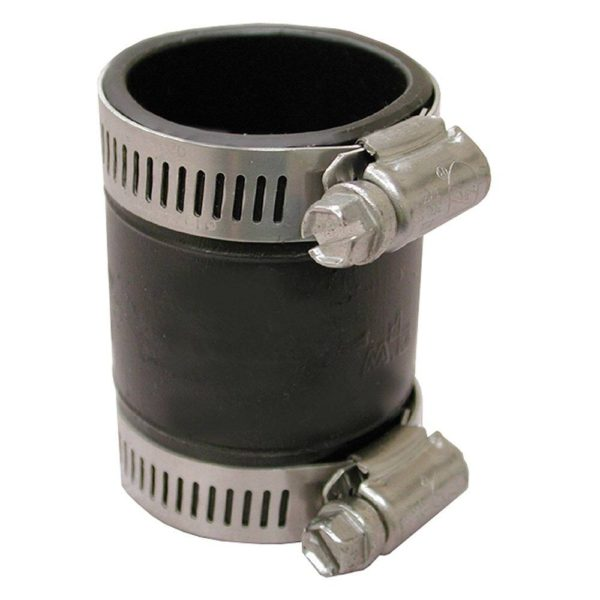 Flexible Drain Trap Connector - Connects DWV to Tubular