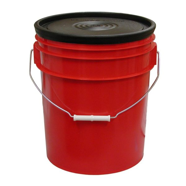 5 Gallon Bucket with 2 Large and 3 Small Trays