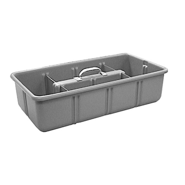 """Tool Tote Tray, 12"""" x 24"""" x 6"""" with 4 Dividers"""