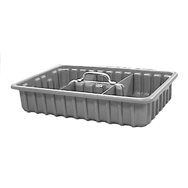 "Tool Tote Tray, 9"" x 15"" x 3"" with 4 Dividers"