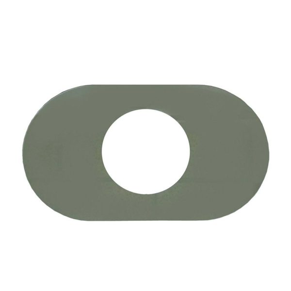"""8"""" x 14"""" One Handle Cover Plate"""