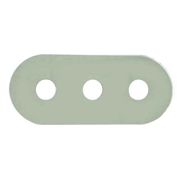 "6"" x 14"" Three Handle Cover Plate"