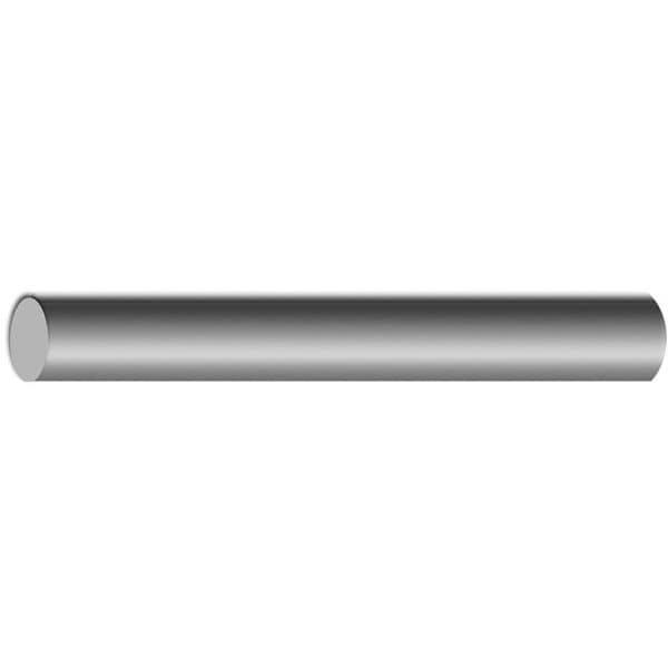 "2"" OD x 3' Tube Chrome Plated Brass Cover Tubes"