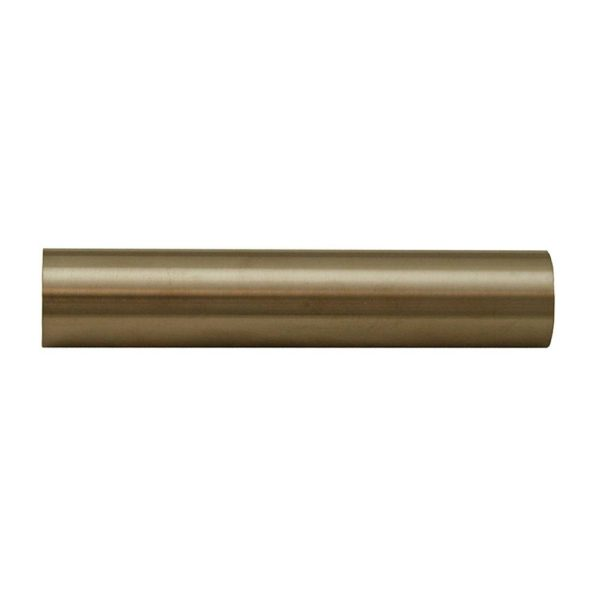 "Brushed Nickel PVD 1/2"" x 3-1/2"" Sleeves"