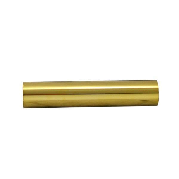 "Polished Brass PVD 1/2"" x 3-1/2"" Sleeves"