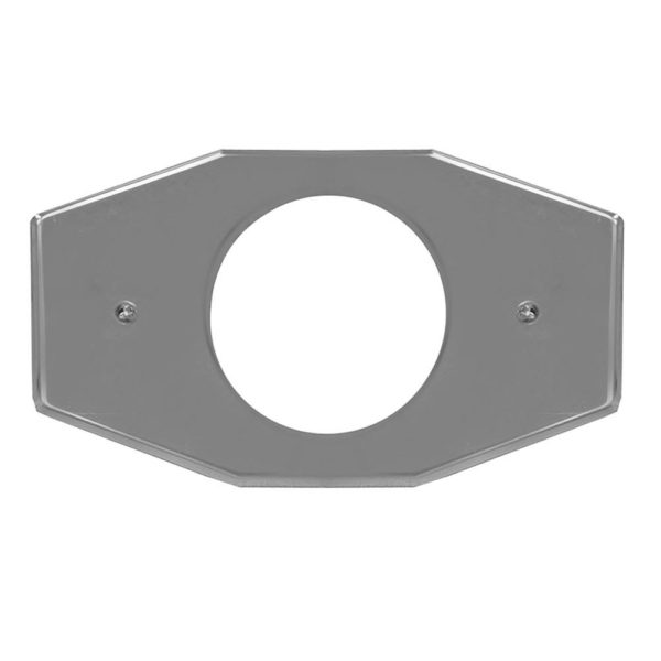 """5-1/8"""" One-Hole Repair Cover Plate"""