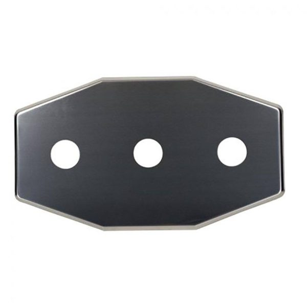 "1-3/8"" Three-Hole Repair Cover Plate"