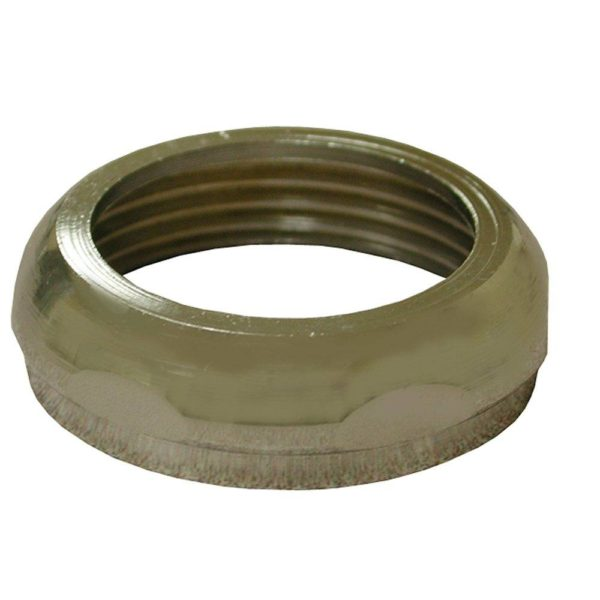 """1-1/2"""" x 1-1/2"""" Chrome Plated Brass Slip Joint Nut and Washer, 25 pcs."""