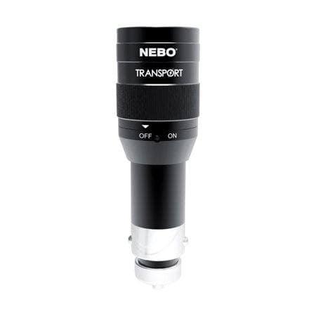 NEBO Tools – 6467 Transport LED Rechargeable DC 12v Socket Flashlight – Black