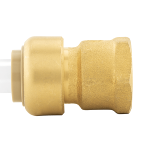"1/2"" x 1/2"" FPT (Bagged) PlumBite Push On Adapter, Lead Free"