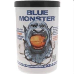 Blue Monster 77095 Heavy Duty Citrus Scrubbing Wipes
