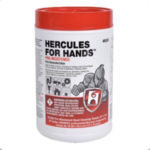 Hercules Pre-Moistened Hand Wipes