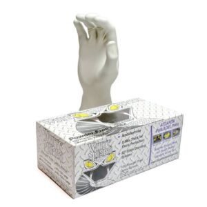 White Mamba Nitrile Gloves