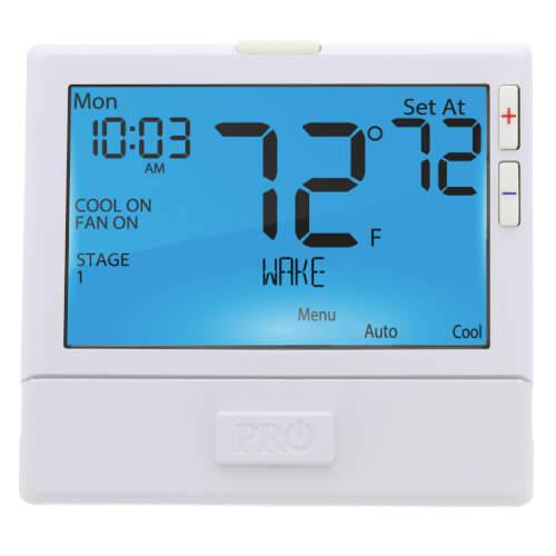 Pro1 up to 2 Heat, 2 Cool Heat Pump Thermostat