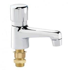Krowne Royal Series Single Self-Closing Metering Restroom Faucet
